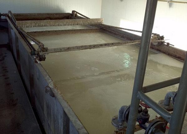 食品厂净水剂使用现场